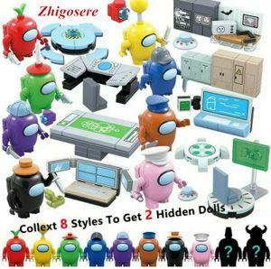 8 Set Among US  Spielmodell Minifigur Bausteine Actionfiguren Spielzeug
