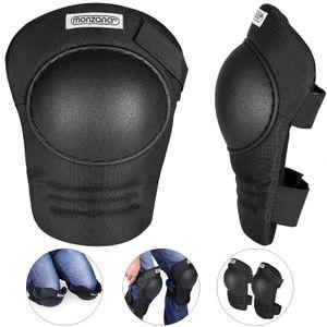Monzana Knieschoner stufenlos verstellbar 1 Paar Knieschützer Kniepolster, Variante:leichtgewichtiger Knieschoner