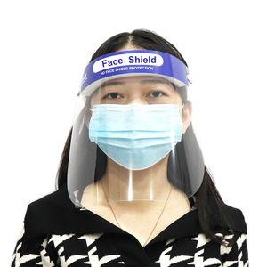Gesichtsschutz Wiederverwendbare transparente Sicherheitsgesichtsmaske Antifog Staubdichte flüssigkeitsbeständige Vollschutzmaske Visier