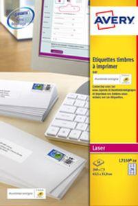 AVERY Adress-Etiketten SPECIAL, 63,5 x 33,9 mm, weiá
