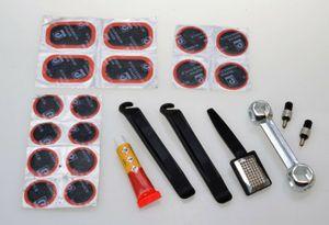 Filmer 45.024 Fahrrad Reparatur / Flickzeug Set mit Werkzeug - 24 teilig