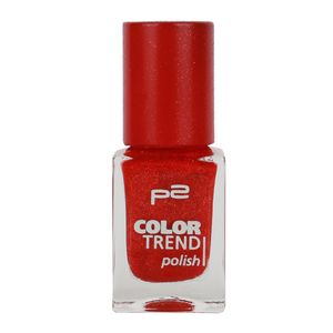 P2 Nägel Nagellack Nagellack Color Trend Nail Polish 833864, Farbe: 020 red sand, 10 ml