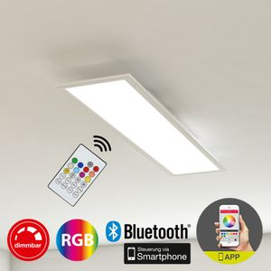 LED Deckenleuchte Panel dimmbar CCT WIFI App Bluetooth 18W Briloner Leuchten
