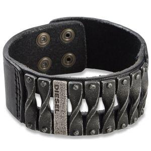 Diesel DXM0579040 Herren Armband Leder