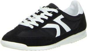 ConWay Damen Sneaker schwarz, Größe:37, Farbe:Schwarz