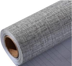 Grau 0.6x10m Aufkleber Küchenschränke PVC Tapeten Küche Selbstklebend Klebefolie Möbel Wasserfest Aufkleber für Schrank Küchenschränke Möbel Selbstklebende Folie Küchenschrank Holzmuster