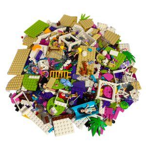 LEGO® Friends Original Mix - Gemischte Steine + Minifiguren - Fabrikneu Menge 100 Stck.