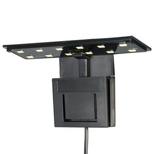 5W Ultra-dünne Aquarium LED-Licht Ultra Bright Clip-on Beleuchtung Lampe 12 LEDs für Aquarium