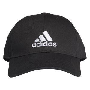 adidas Herren Kappe Baseball BLACK/BLACK/WHITE -