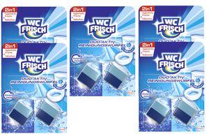 WC FRISCH Duo-Aktiv Reinigungswürfel für Wasserkästen 5x 2 Stück Bad Reinigung