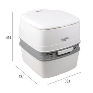 Porta Potti Qube 365 + Gratisprobe Chemie + Fiamma Toilettenbürste + Aquasoft für T4 T5 T6