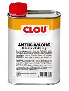 Holzwachs CLOU Antik-Wachs flüssig farblos 250 ml