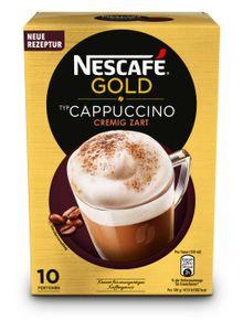 Nescafé Gold Typ Cappuccino Cremig Zart | 10 Portionen