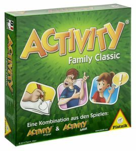 Piatnik - Activity Family Classic Brettspiel Familienspiel Ratespiel