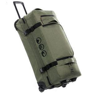 Reisetasche mit 2 Rollen KANE Duffel-Trolley Rollkoffer olive, Größe:XL