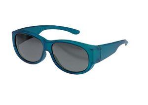 FitOfar sonnenbrille blau Damen mit grauer Linse VZ0010LK