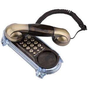 Mllaid Schnurgebundenes Antik-Telefon, Retro-Wandtelefon Schnurgebundenes Telefon Festnetztelefon Mode-Telefon für Zuhause Hotel