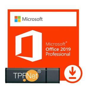 Microsoft® Office 2019 Professional 32 bit & 64 bit - Original Aktivierungsschlüssel mit USB Stick von - TPFNet®