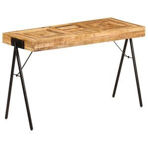 Schreibtisch Möbel,Büromöbel,Schreibtische Massivholz Mango 118 x 50 x 75 cm