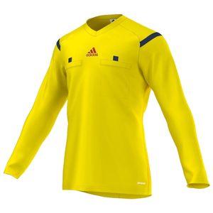 adidas SCHIEDSRICHTER Trikot Herren langarm gelb, Größe:XL