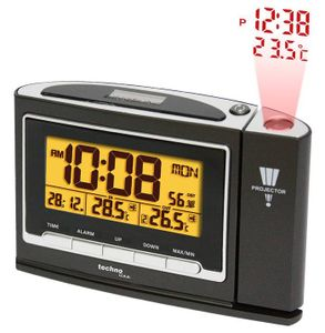 Projektions-Uhr Funk-Wecker Funkuhr Projektionswecker Technoline Wt 529 Sender