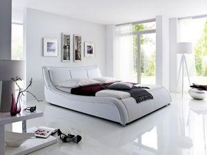 Meise Möbel 498-10-40000 Soma Polsterbett ; Farbe: Weiß ; Maße (BxLxH): 160 cm x 200 cm x 94 cm