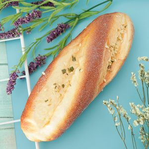 1 Stück gefälschtes Brot Käsestreifen Brot wie beschrieben