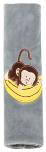 KidsExperts Gurtpolster Monkey ab 5 Jahre grau, 26082