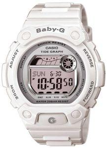 Casio Baby-G Damen Uhr BLX-103-7ER Digitaluhr weiß