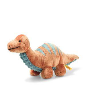 Steiff  Bronko Brontosaurus 28 dunkelorange/petr 087837