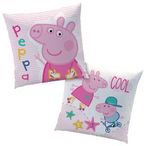 Peppa Pig Wutz Kissen Kuschelkissen Dekokissen  40 x 40 cm