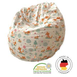 Sitzsack, Beanbag, Loungestuhl für Kinder und Erwachsene I ohne Schadstoffe I formstabil I 240 Liter