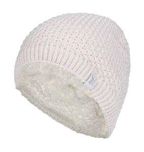 HEAT HOLDERS - Damen Winter Warm Strick Beanie/Mütze mit Fleecefutter