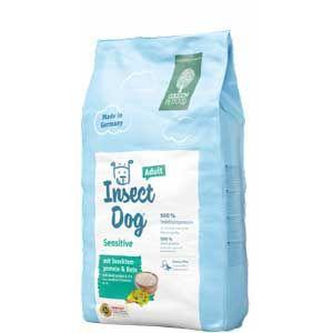 3 x 10 kg Green Petfood InsectDog Sensitive