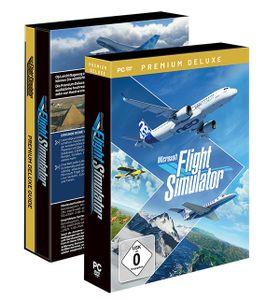 Microsoft Flight Simulator - Premium Deluxe - CD-ROM-Eurobox