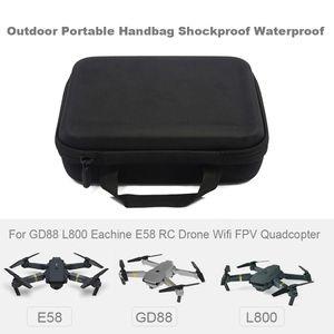 Outdoor Tragbare Handtasche Sto?fest Wasserdicht fš¹r E58 L800 GD88 RC Drohne Quadcopter