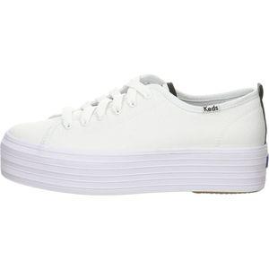 Keds Damen Sneaker Sneaker Low Textil weiss 38