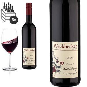 6er Karton 2016 Hatzenporter Kirchberg Barrique gereift von Weingut Weckbecker - Rotwein