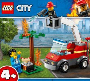 LEGO® City Feuerwehr beim Grillfest, 60212