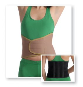 Bandage Nierenwärmer Rückenwärmer Wärme-Gürtel Kreuz Leibwärmer Neopren 4045 schwarz 3XL/4XL