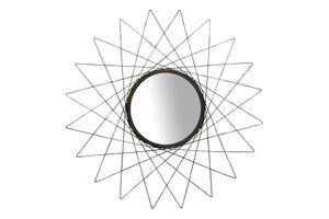 Spiegel Wandspiegel Sonnenspiegel Dekospiegel Silber