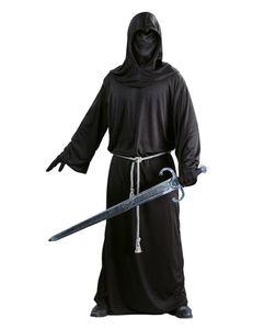 Fiestas Guirca kostüm Dark Soldier Männer schwarz Größe L