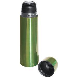 Edelstahl Isolierkanne / Thermosflasche / Thermoskanne / Farbe: apfelgrün