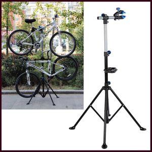 Profi Reparaturständer Fahrradständer Fahrrad Montageständer Ständer 190cm-104cm 360° Weiche Klemmbacken Einstellbar Dauerhaft
