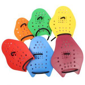 Malmsten Handpaddles Swim Power Paddels | Paddles für das Schwimmtraining, Größe:M (gelb)