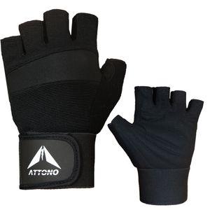 Profi Fitness Handschuhe mit Bandage Trainingshandschuhe Fitnesshandschuhe