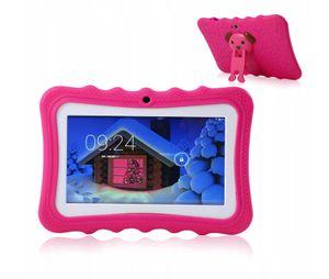 """7 """"Kinder Tablet PC 8 GB Quad-Core-Wi-Fi-Tablet-PC-Pad mit stossfestem Silikon-Schutzhuelle fuer Kinder Paedagogisches Geschenk tablet für kinder EU-Stecker"""