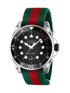 Gucci Dive YA136209A quarzwerk Herren-Armbanduhr