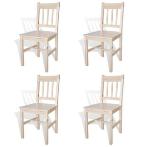 Esszimmerstühle Küchenstuhl 4er Set Kiefernholz
