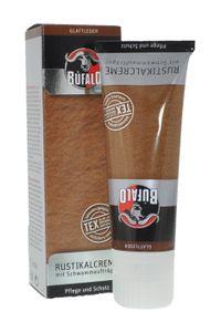 Bufalo Rustikal Schuhcreme - für gefettete und gewachste Leder - 75ml